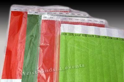 TYVEK Wristbands 10,000 Closeout SALE Bar Club Event Party Security Entry