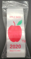 Apple 2020 Plastic 2 X 2 Resealable 25mm Bags Pouches For Jewelry Pills Or M