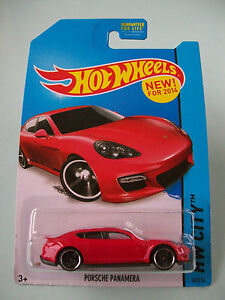Hot-Wheels-2014-HW-City-PORSCHE-PANAMERA-Red-40-250-New-In-Packet