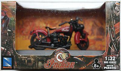 NewRay - Indian Junior Scout (1937) 1:32 / Spur 1 Neu/OVP Motorrad-Modell