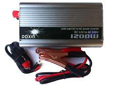 Inversor 1200w (12v DC -  220v AC) Inverter Conversor Convertidor 900w.De España