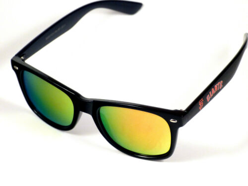Iridium Reflective Lenses San Francisco Giants Classic Sunglasses MLB Licensed