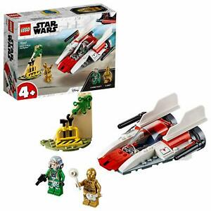 Lego Star Wars 75247 Chasseur Stellaire Rebelle A-wing Jeux De Consrtuction Set