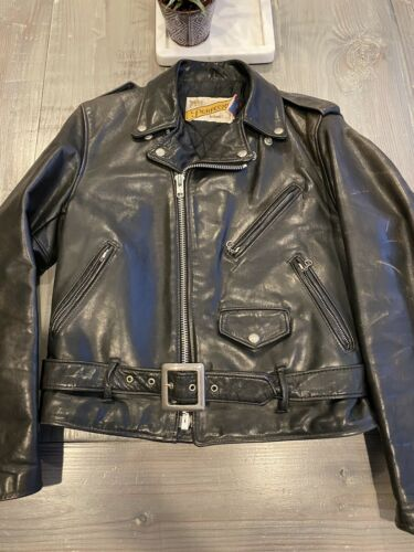 Schott NYC Perfecto 118 Leather Motorcycle Jacket
