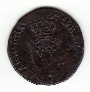 1767-amp-copper-039-039-1-2-Sol-d-039-Aix-039-039-Louis-XV