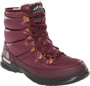 THE-NORTH-FACE-ThermoBall-Lace-II-T92T5L5UG-Insulated-Warm-Winter-Boots-Womens