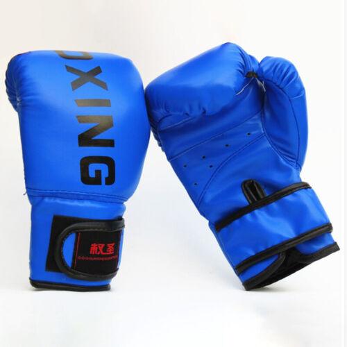 Boxing Gloves Punching Training Sparring MMA Kickboxing Bag Muay Thai Kids//adult