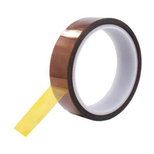 15mmX100ft 3D Sublimation Heat Resistance Proof Kapton Tape for Heat Press Print