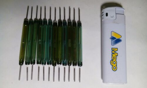 NO Contacts 20pcs 5mm X 47mm Reed Magnetic Glass Switches Large Big XL