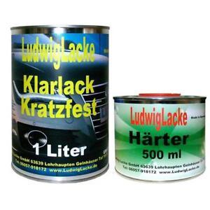 1,5 Liter MS 2K Klarlack SET mit Härter für Autolack Metallschutz - ., Deutschland - 1,5 Liter MS 2K Klarlack SET mit Härter für Autolack Metallschutz - ., Deutschland