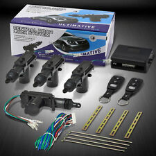 Universal Car Auto Anti-Theft Central Door Lock System + 2 Keyless Entry Kit NEW