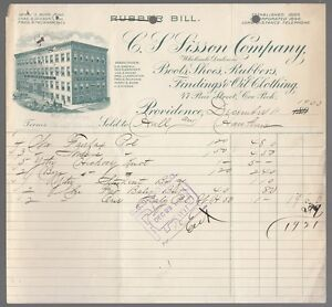 64059-1903-C-S-SISSON-COMPANY-BOOTS-SHOES-amp-RUBBERS-PROVIDENCE-R-I-INVOICE