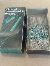 ELECTROSIL RESISTORS 68R 1/4W 2% ** GLASS-TIN-OXIDE ** HIGH STABILITY LOW NOISE