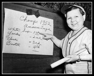 1952-Eddie-Gaedel-Photo-8X10-Chicago-White-Sox-Buy-Any-2-Get-1-Free
