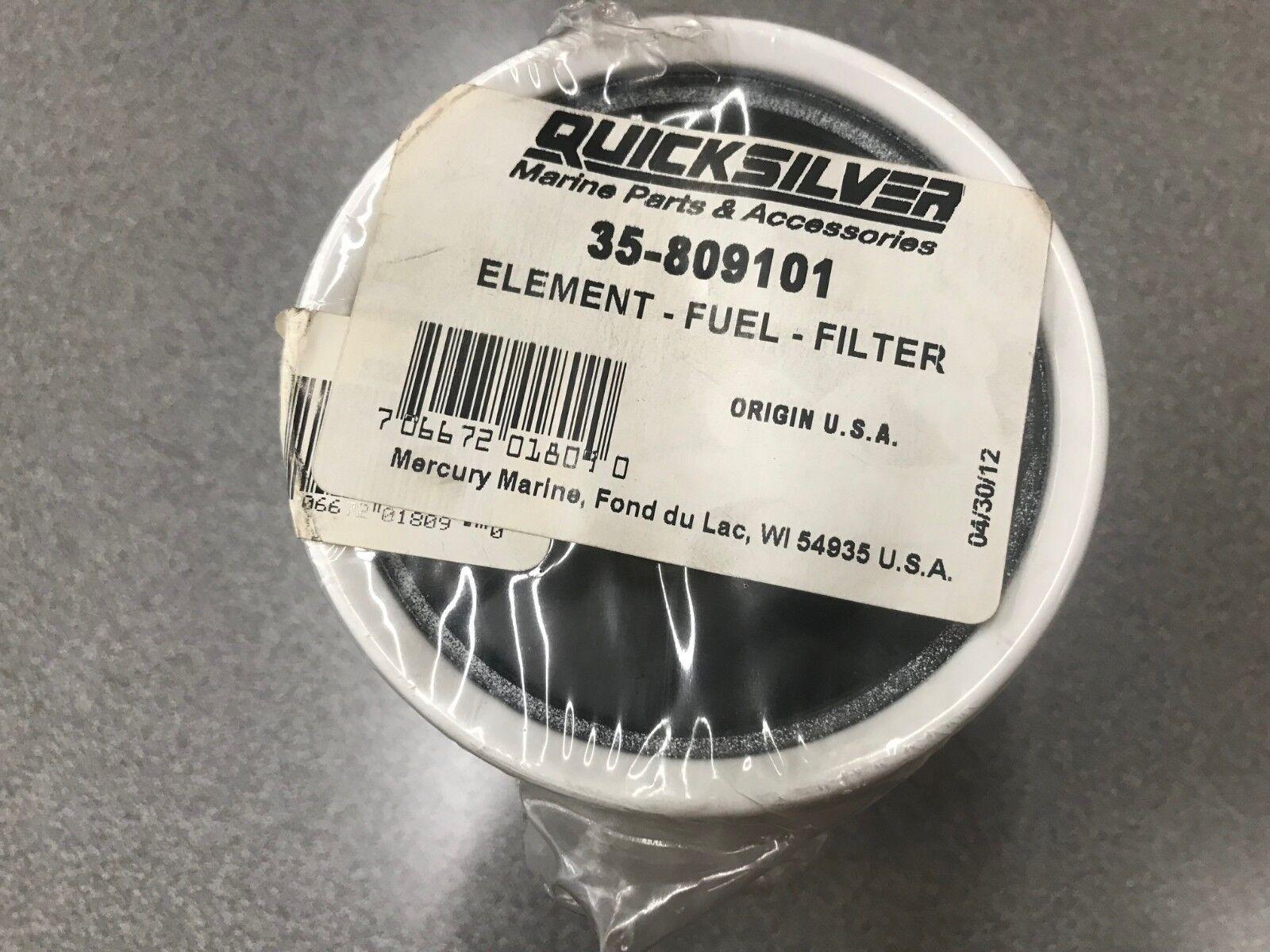 Genuine Mercury Mercruiser Quicksilver Fuel Filter Element 35-33744