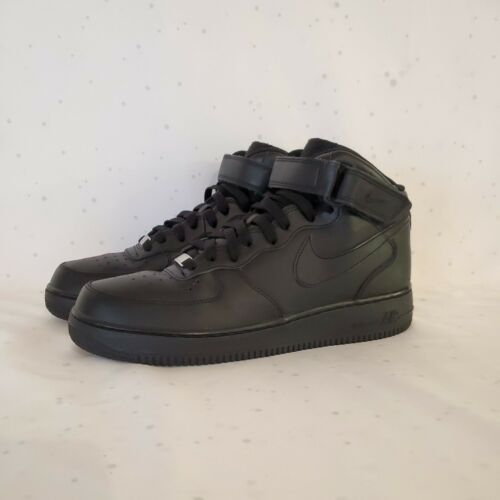 Nike Air Force 1 Men's 10.5 US Mid Top Black Nike