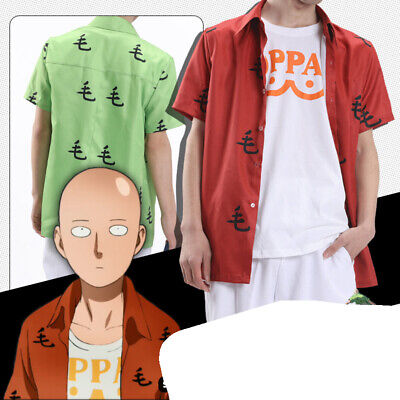 One Punch Man Costume Cosplay Saitama Mao Shirt Oppai Tee Casual Outfit T Shirt