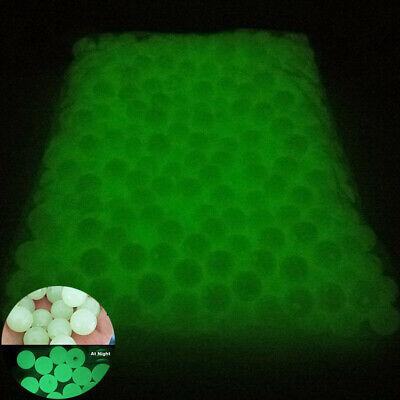 100-500Pcs Luminous Beads Glow DIY 4//5//6//8//10mm Dark the Jewelry Making in Round