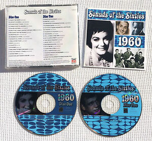 Sounds-of-the-sixties-1960-time-life-RARE-CD-TL-SCC-17-Holland-B-V