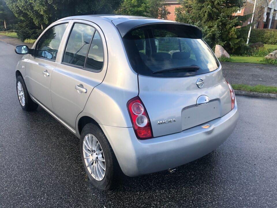 Nissan Micra 1,4 Tekna Benzin modelår 2004 km 210000