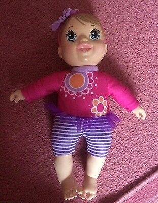 2019 New Style Baby Alive Plays And Giggles Blonde Baby Doll Talking New Beneficial To The Sperm Baby Dolls