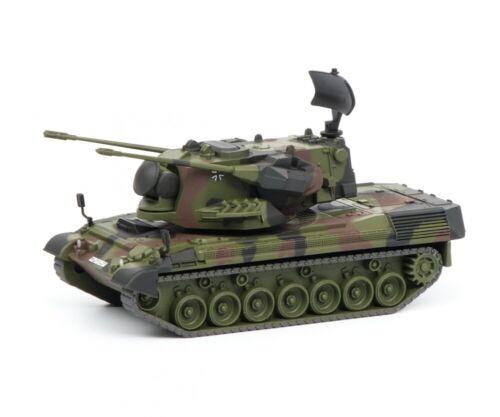 """flecktarn 1:87 #452635500 Schuco Gepard Flakpanzer /""""Bundeswehr/"""""""