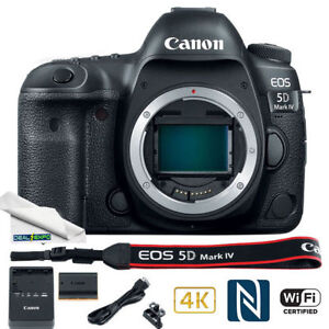 Canon EOS 5D Mark IV Digital SLR Camera (Body Only)