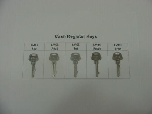 Reset Prog – Your Choice National Cash Register Keys – Reg Set Read