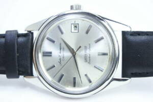 Seiko-Champion-Vintage-19-Jewels-Calendar-Manual-Winding-Mens-Watch-Auth-Works