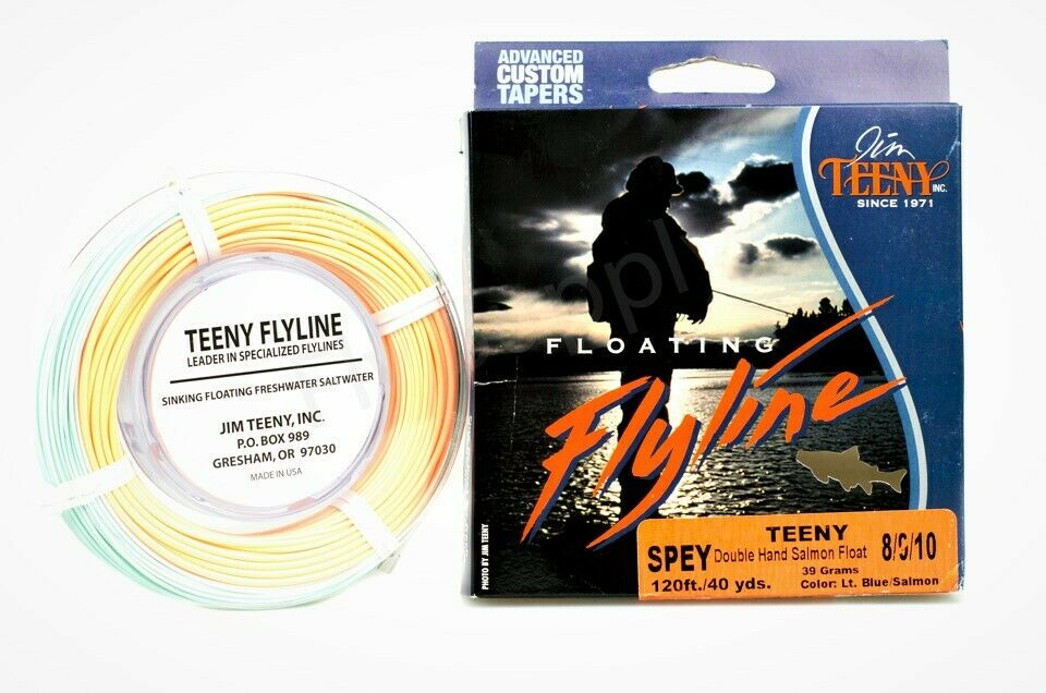 Jim Teeny Double Hand Spey Line -  2 Hand Fly Line-Floating-RRP 89,-   fast delivery