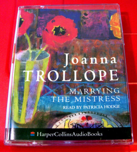 1 of 1 - Joanna Trollope Marrying The Mistress 2-Tape Audio Book Patricia Hodge