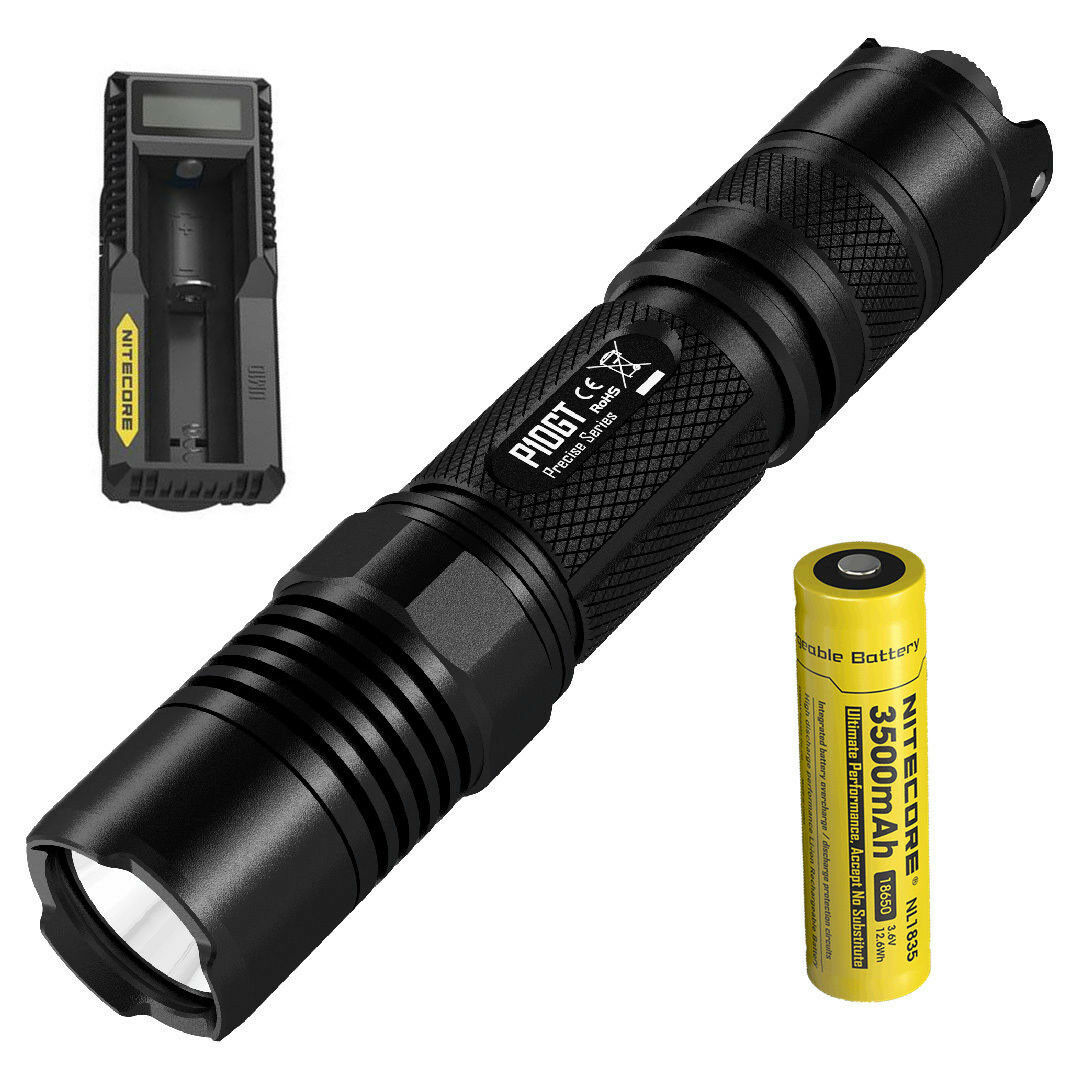 Nitecore P10GT CREE XPL HI V3 LED 900 Lumens Tactical LED Flashlight