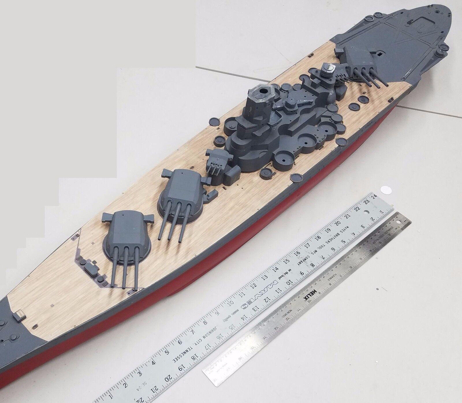 [Uchronie] IJN Yamato 1955 (Nichimo, Fujimi et scratch 1/200°) par habikitokay - Page 3 S-l1600