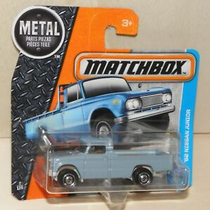 Matchbox-039-62-NISSAN-JUNIOR-hellblau-Pick-up-Oldtimer-MBX-Adventure-City-2017-NEU