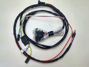 1966 66 chevelle el camino engine starter wiring harness ... el camino wiring diagram for sbc