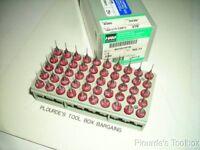 """Lot of (50) Solid Carbide Micro Circuit Board Drill Bits #74, 0.0225"""" Dia"""