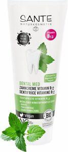 1 x SANTE DENTAL MED Zahncreme Vitamin B12 Natriumfluorid Vegan, Bio-Extrakte