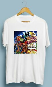 Vintage-Wu-Tang-SAGA-Continue-RZA-Method-Man-Tshirt-Gildan-Size-S-M-L-XL-2XL