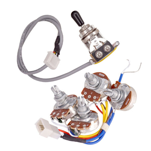 A500k B500k Ohm Audio Mini Pots Gitarre Potentiometer für Les Paul