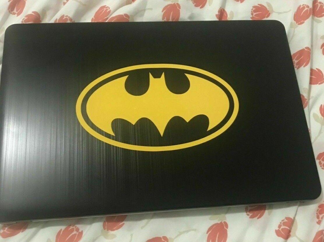 Diecut Vinyl BATMAN LOGO Car Truck Decal Sticker Gift Laptop Comic Dark Knight
