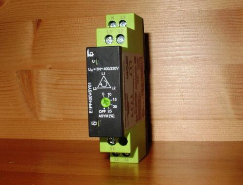 *NEW* Tele E1PF400VSY01 Phase Monitor Protection Relay
