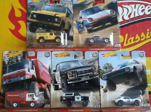 Hot-Wheels-Premium-Wild-Terrain-Porsche-Ford-Mercedes-Camaro-Lot-5-NG127-128