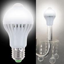 5W E27 LED PIR Motion Body Sensor Lamp White Bulb Outdoor Home Night Light