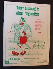 G H Godwin - 'istory According To Albert 'igginbottom - pb - English Verse Humou
