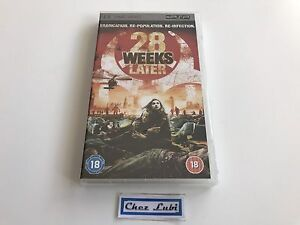 28 Weeks Later - UMD Video - Sony PSP - EN - Neuf Sous Blister