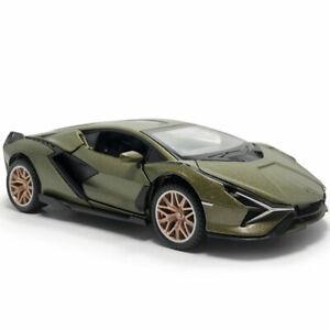 1-32-2019-Lamborghini-Sian-FKP-37-Modelo-de-Coche-de-juguete-Diecast-Sonido-amp-Luz-Verde-De-Regalo