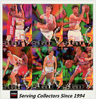 1995 Futera NBL Trading Cards SAMPLE Star Challenge Set (10)