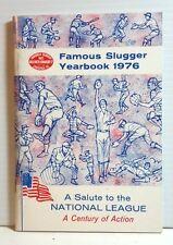 Original 1976 Louisville Slugger Famous Slugger Yearbook- 64 Pages (T-1075)