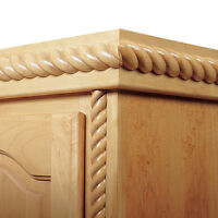 95 X 1 Oak Split Rope Molding
