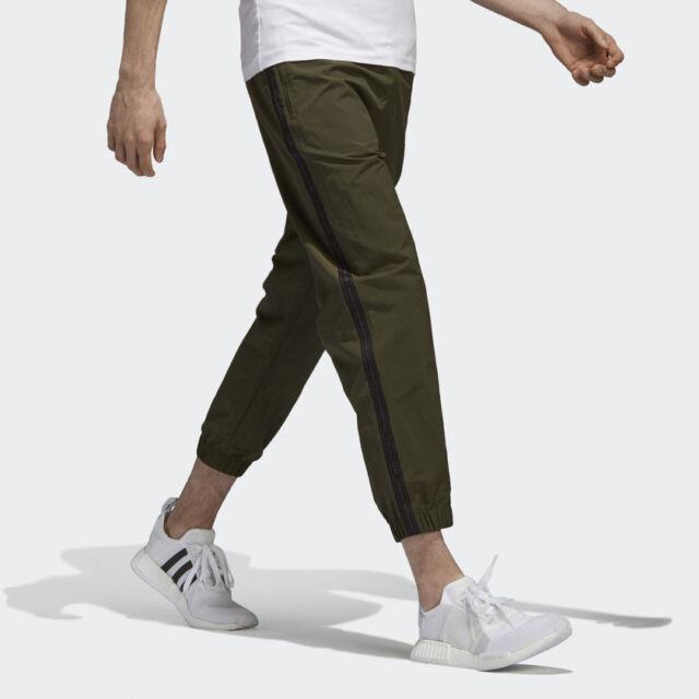 5ed7b6877 Adidas Originals Men s NMD NOMAD Cargo Olive Trace Green Track Pants Sz  Large L
